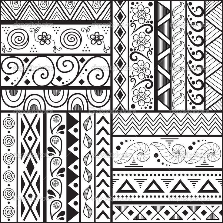 Easy Tribal Patterns To Draw Pictures Best Hq Images Best Hq Pattern Design Drawing Doodle Patterns Pattern Art