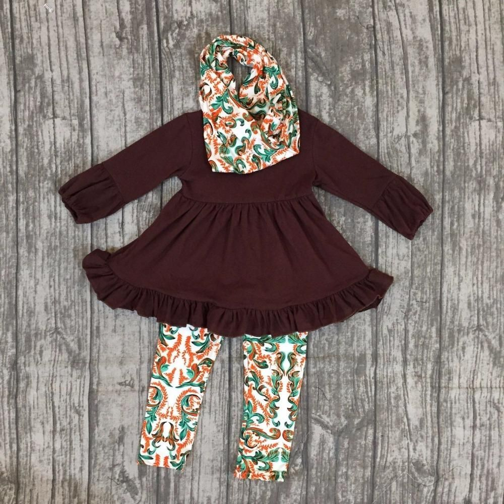Fall Outfits Persnickety Girls 3 Pieces With Scarf Clothing Children