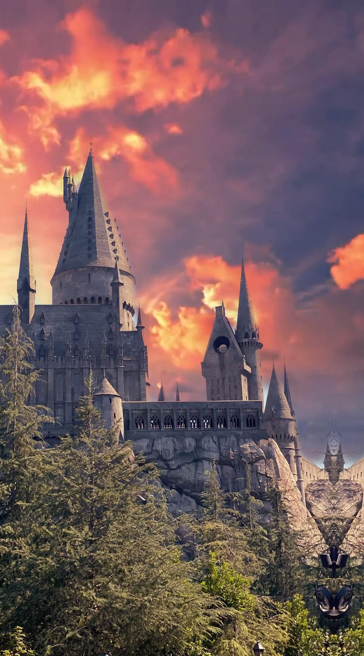 Hogwarts At The Wizarding World