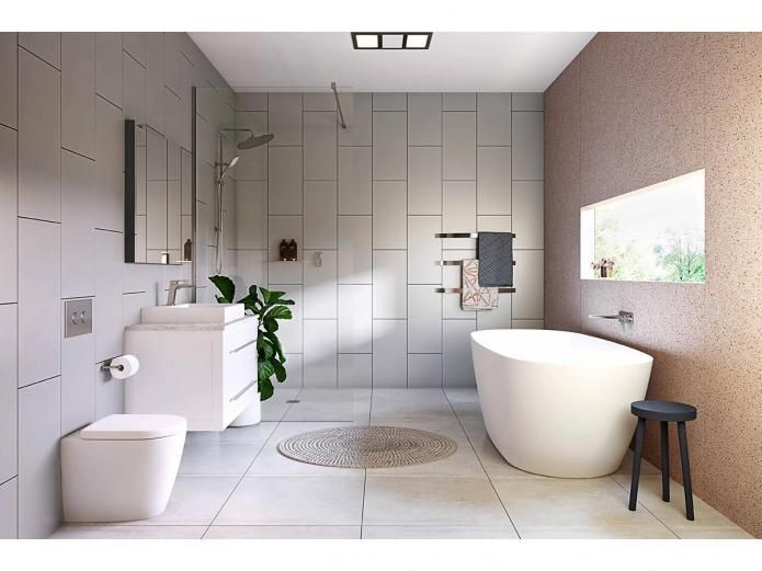 Kado Lux 1750 Freestanding Oval Bath White Home Ideas Bathroom Reece Bathroom Bathroom