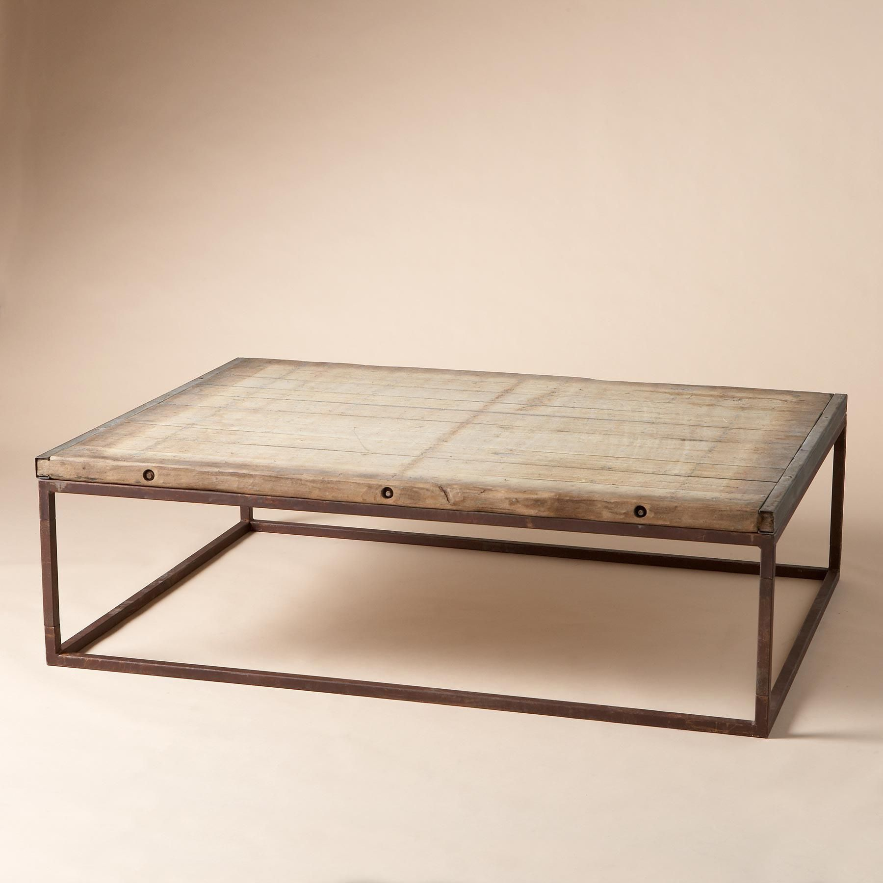 BRICKMAKERS COFFEE TABLE Put Your Feet On The Coffee Table - Brickmakers coffee table