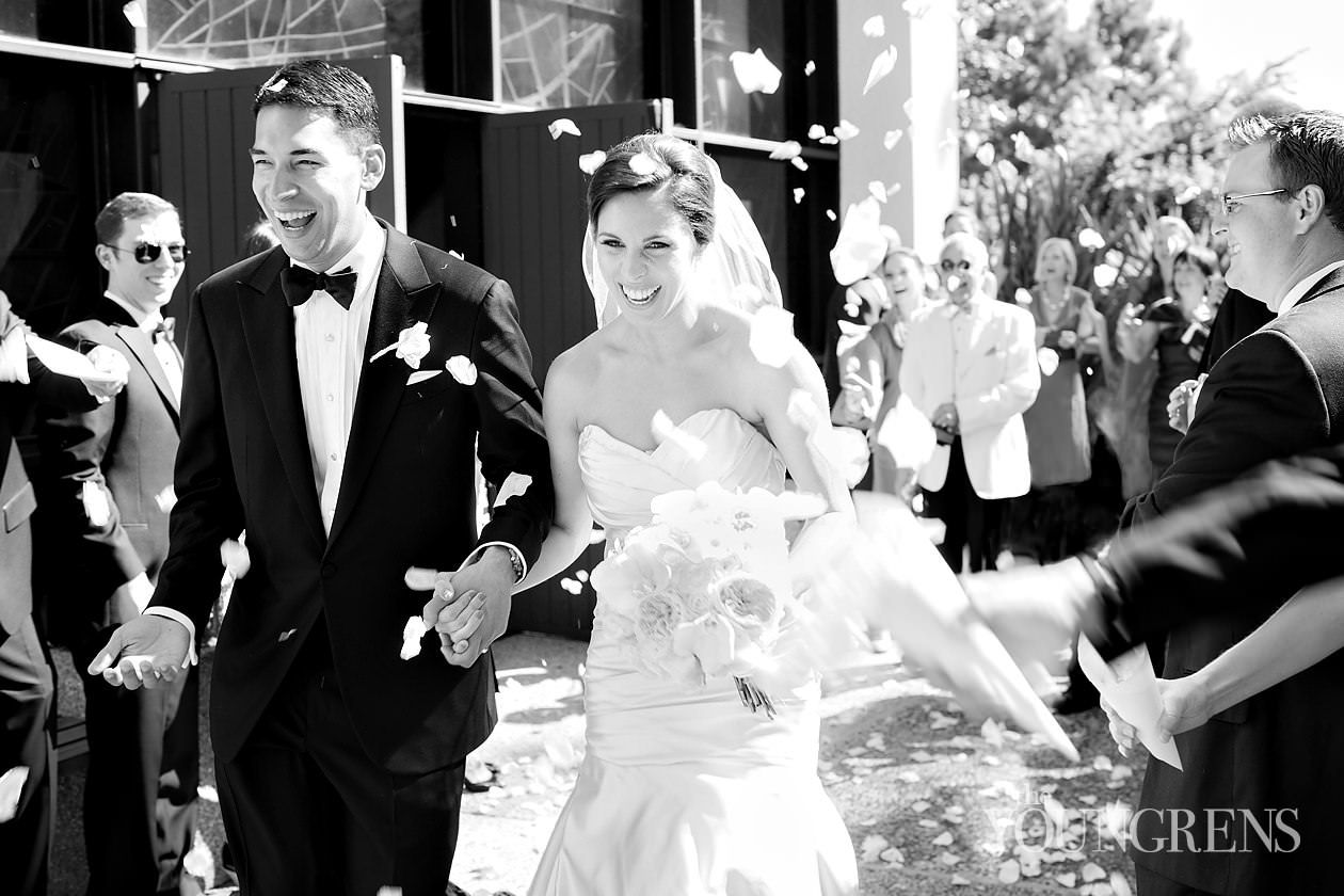 Timeless bride and groom at Fairmont Miramar Hotel Wedding, Photography by The Youngrens. View More Images: ( theyoungrens.com/blog/weddings/pepperdine-university-wedding-part-one-stefan-and-morgan/ )