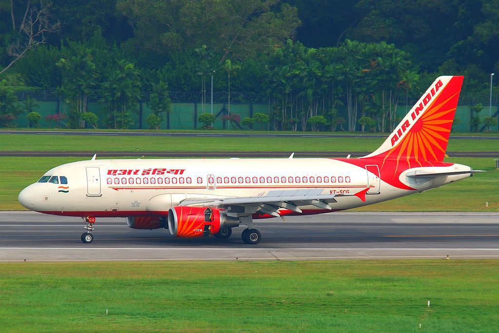 Air India Fleet Airbus A319100 Details and Pictures