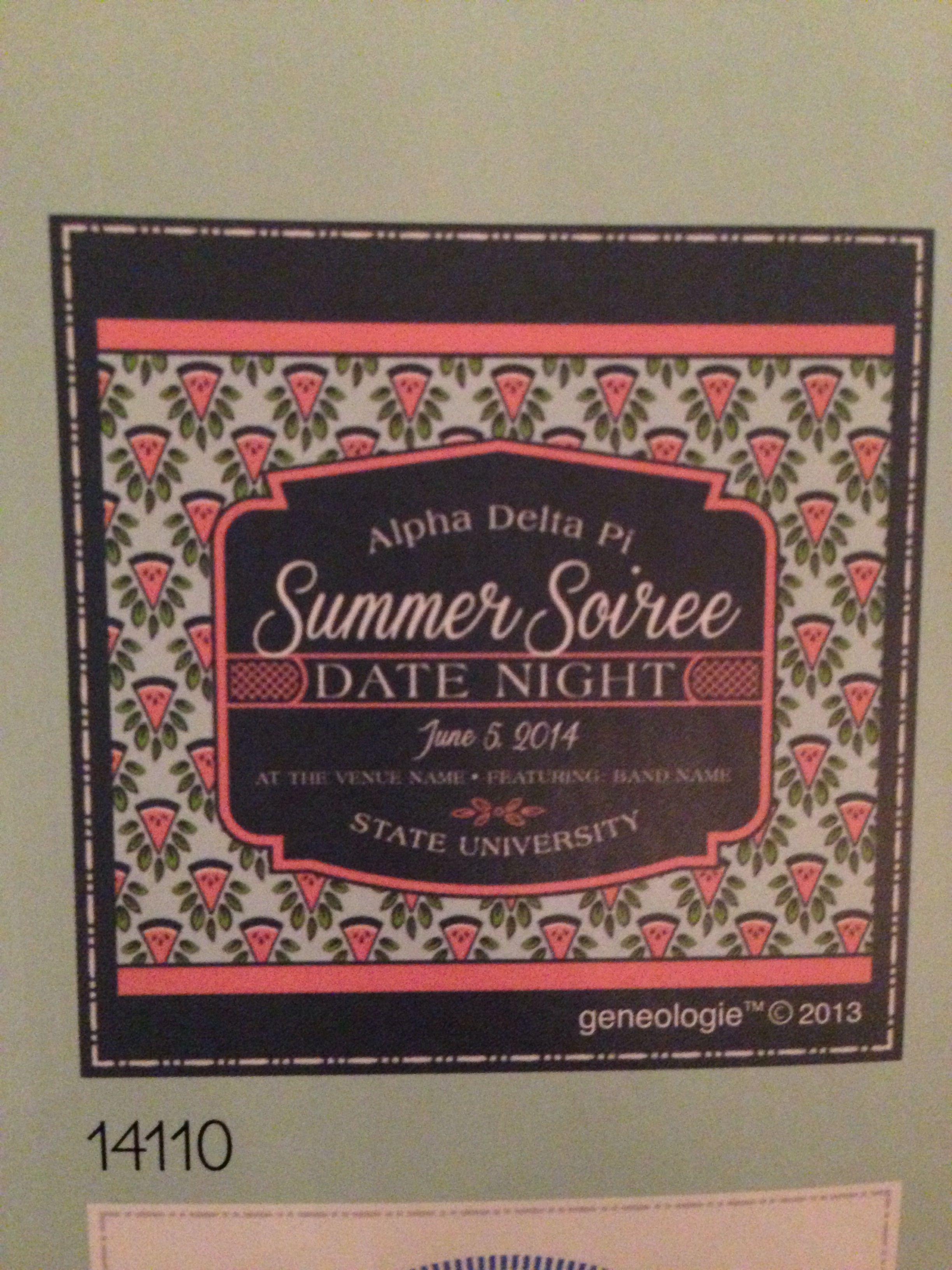 Sorority Shirt Design Geneologie