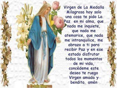 Virgen De La Medalla Milagrosa Oracion Virgen Milagrosa Oracion A Maria Auxiliadora Milagroso