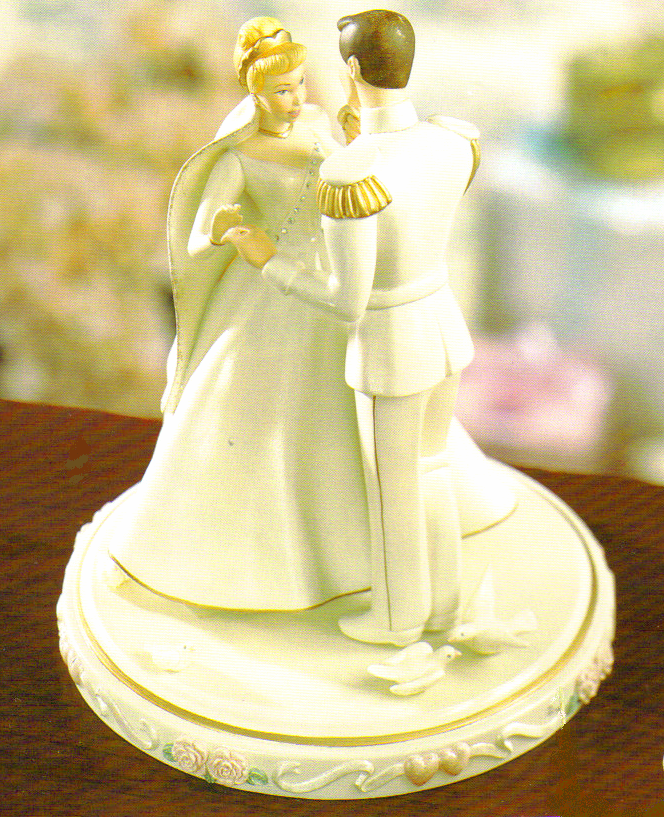 Cinderella S Wedding Day Cakes Topper $ 179 95 Hand In cakepins.com ...
