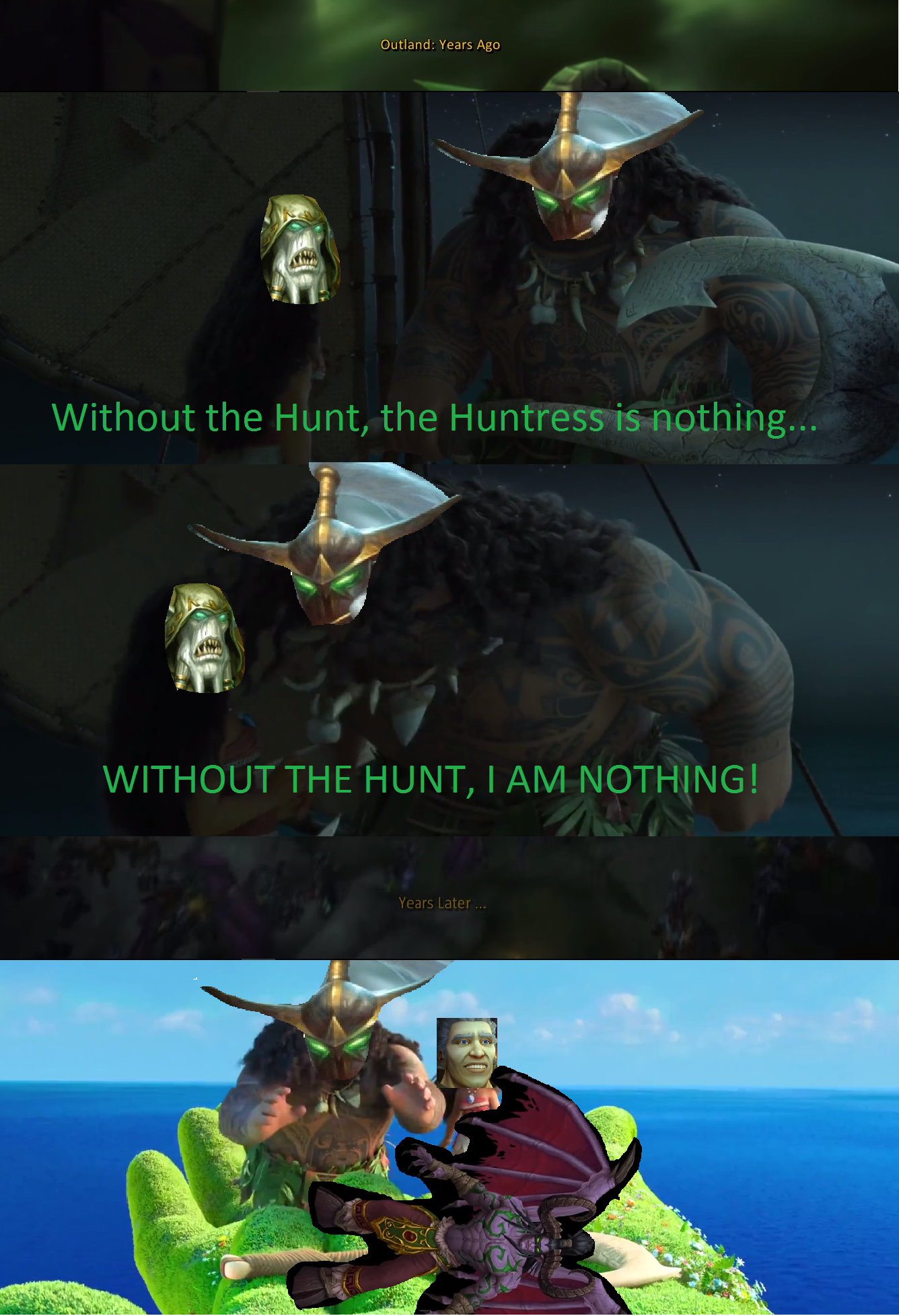 Maiev And Illidans Last Conversation In Black Temple Came To Mind