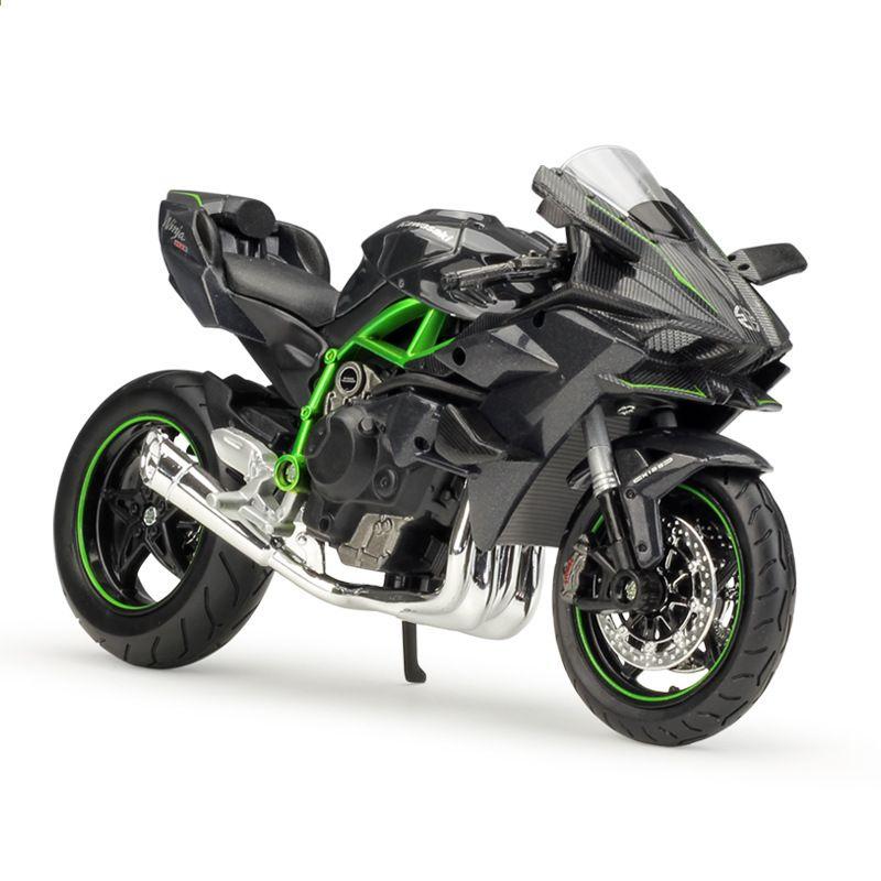 Maisto 1 12 Kawasaki Ninja H2r H2 R Scala 1 12 Moto Diecast In