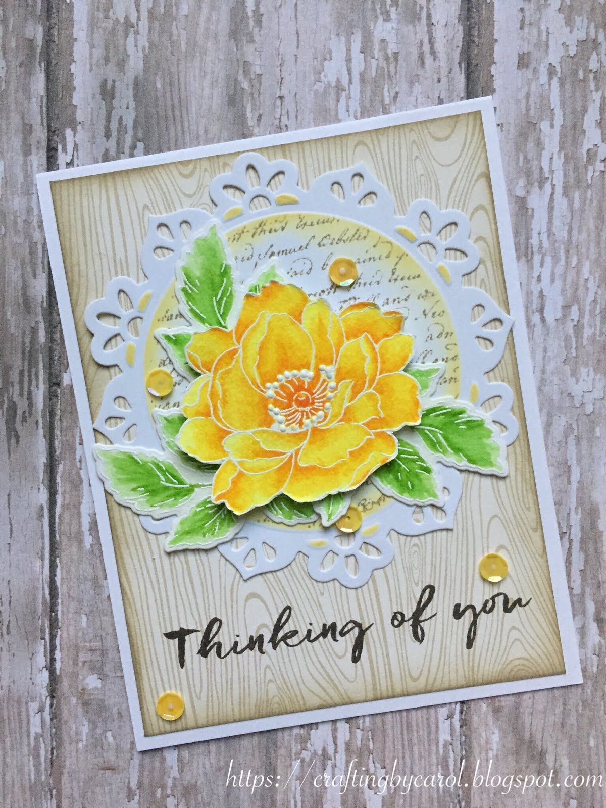 Crafting By Carol Altenew Cards Yellow Cards Beautiful Handmade Cards