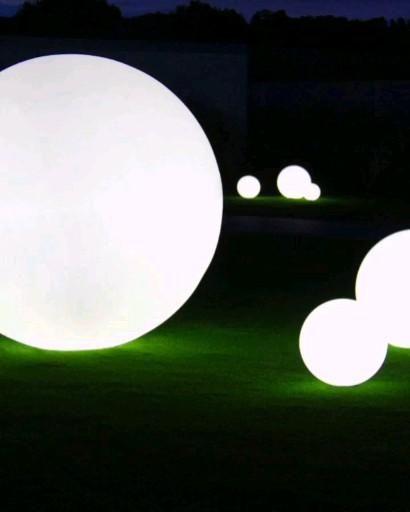 Leuchtkugeln Garten Und Terrasse Kugelleuchten Video Celestial Celestial Bodies