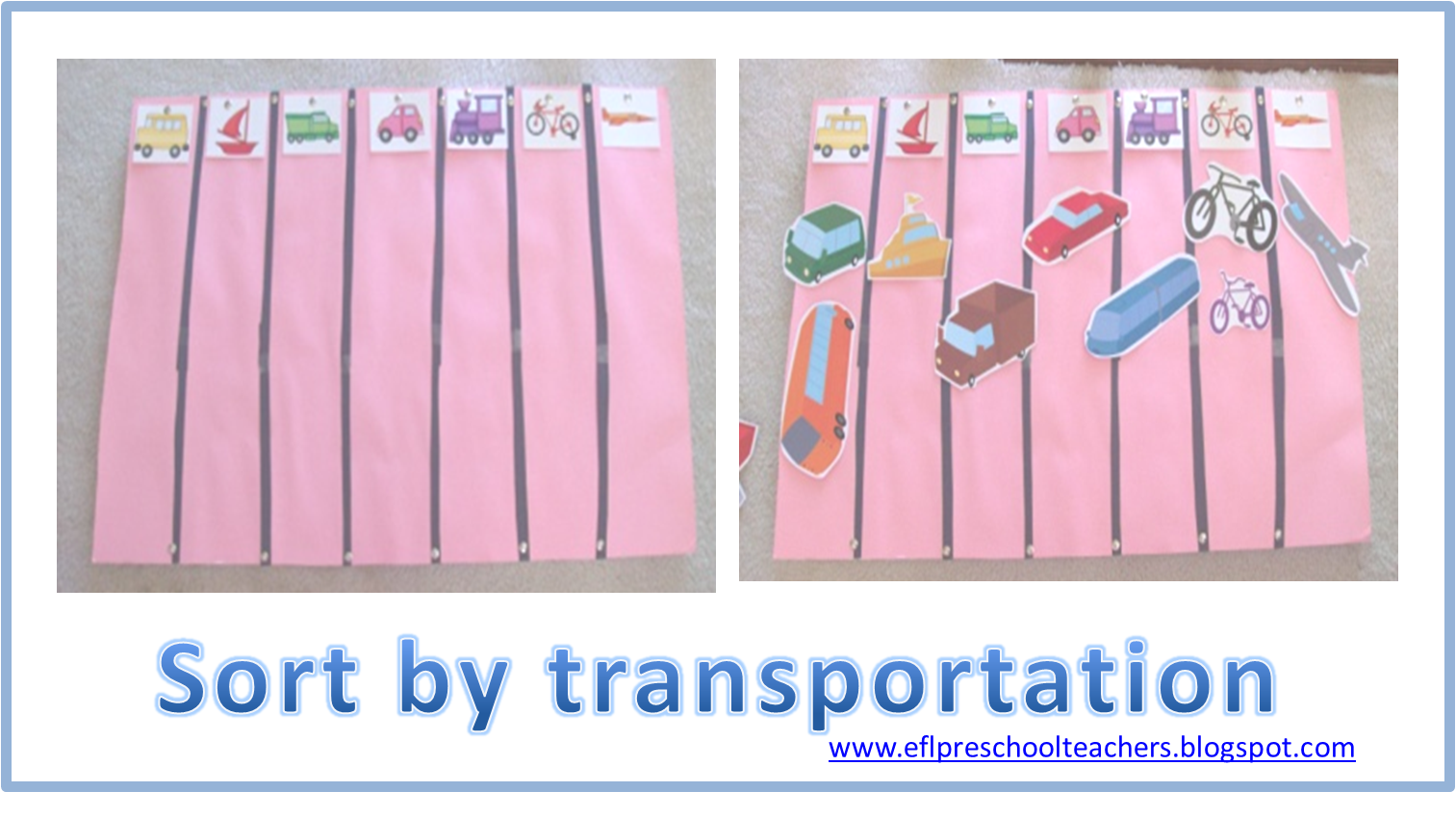 Pics For > Land Transportation Crafts For Preschoolers