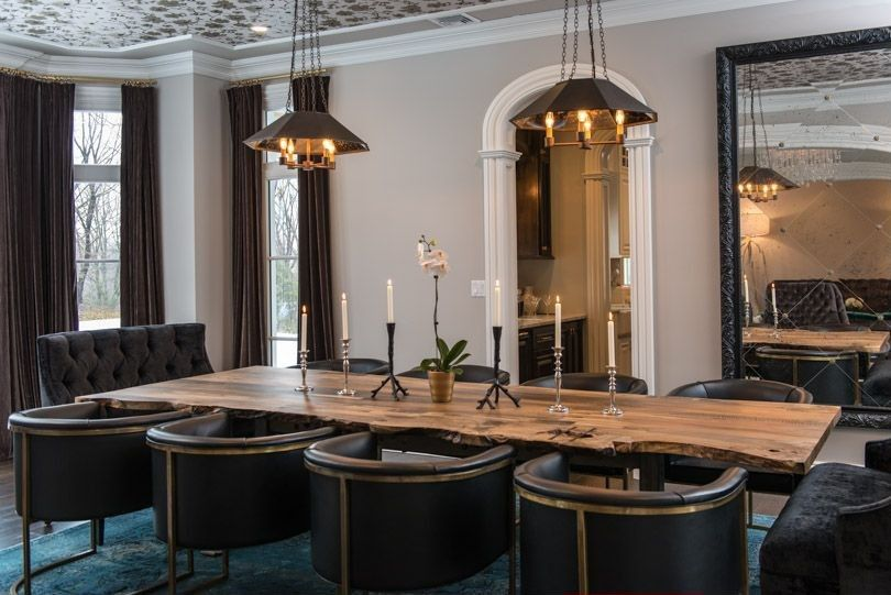 Contemporary Dining Room With Restoration Hardware European Factory Caged  Collection, Lara Tufted Velvet Banquette