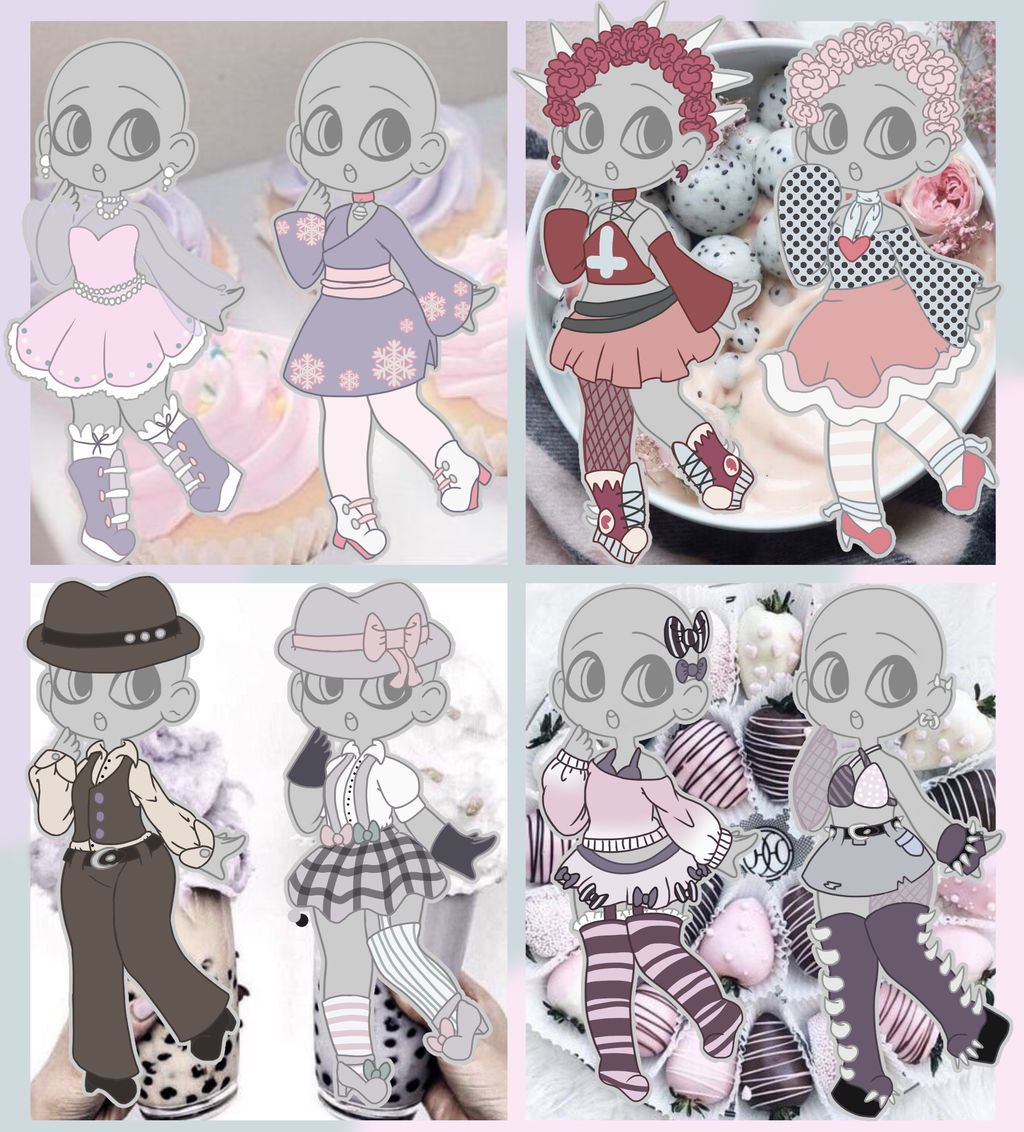 Sweet Aesthetic Outfit Adopts Closed By Horror Star On Deviantart Drawing Anime Clothes Fashion Design Drawings Character Design Inspiration