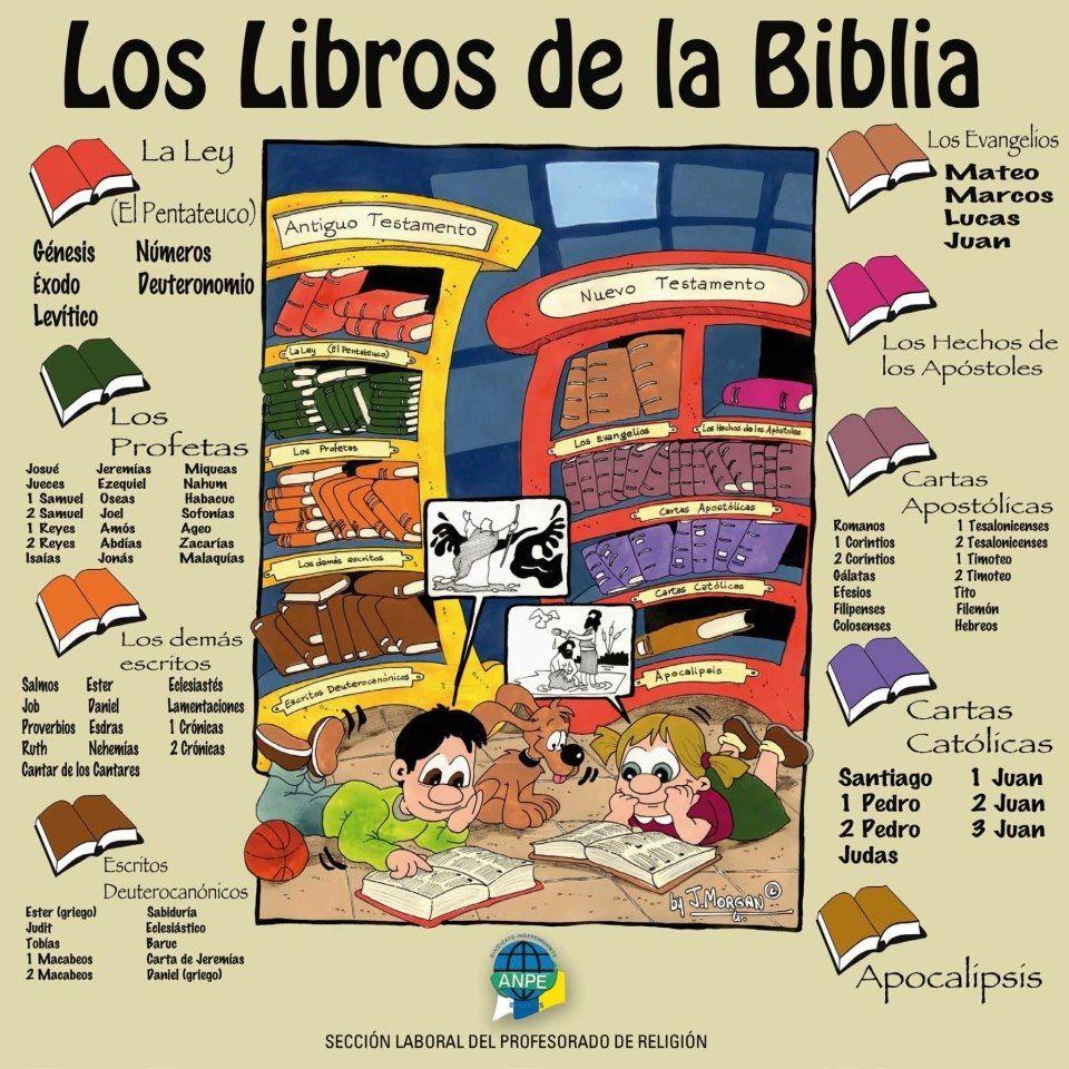 Cartel Libros Biblia | Libros Cristianos | Pinterest | Cartelitos ...