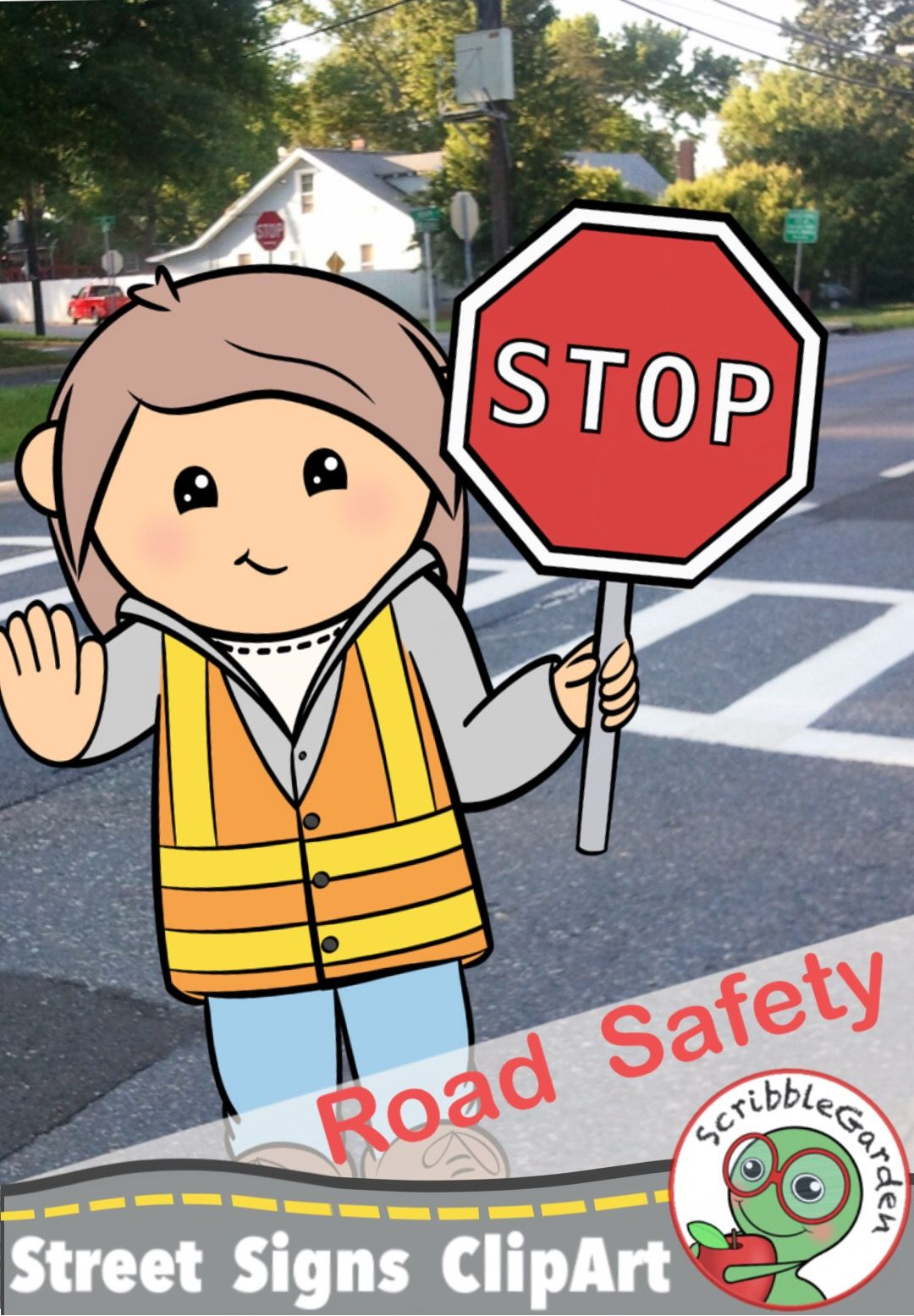 Road Safety Street Signs ClipArt Street signs, Clip art