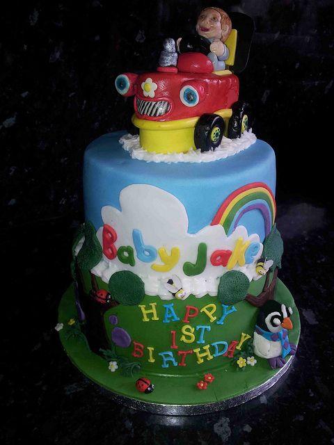 Swell Baby Jake Cake With Images Jake Cake Cake Tractor Cake Personalised Birthday Cards Epsylily Jamesorg