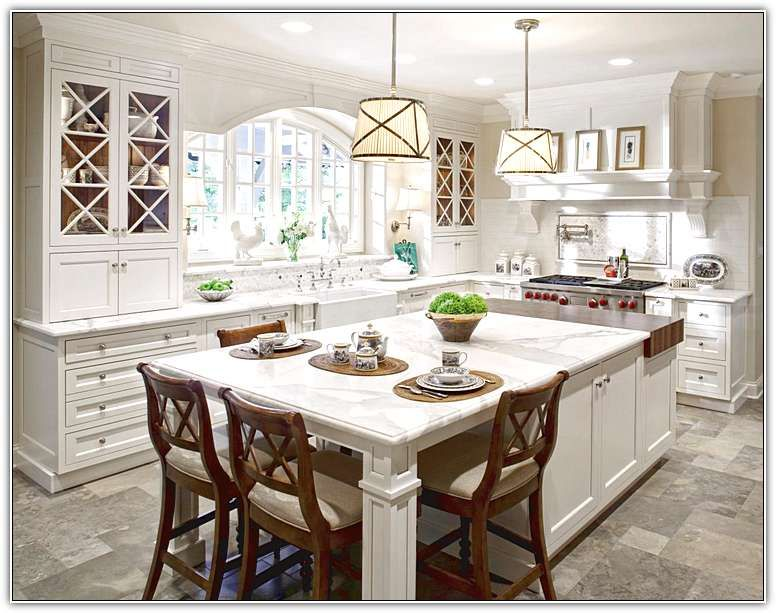 Large Kitchen Island With Seating For 4 Kitchen Ideas In