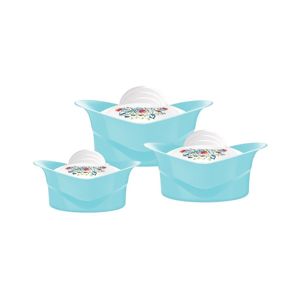 Insulated serving dishes3pc thermal hot food containers