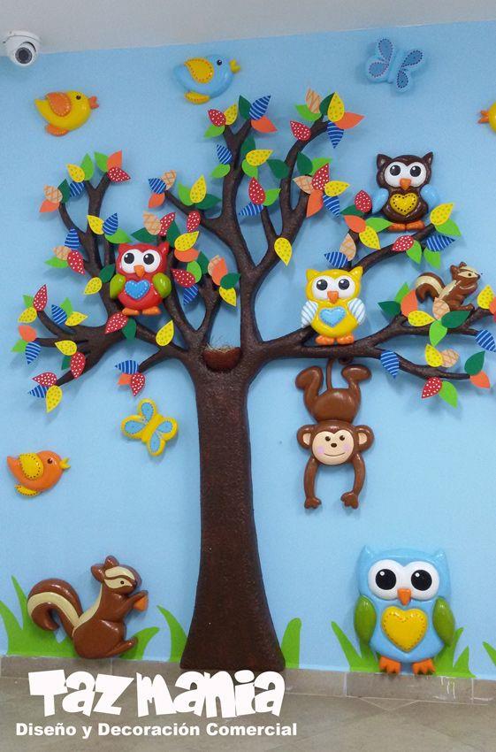 decoracion infantil jardin