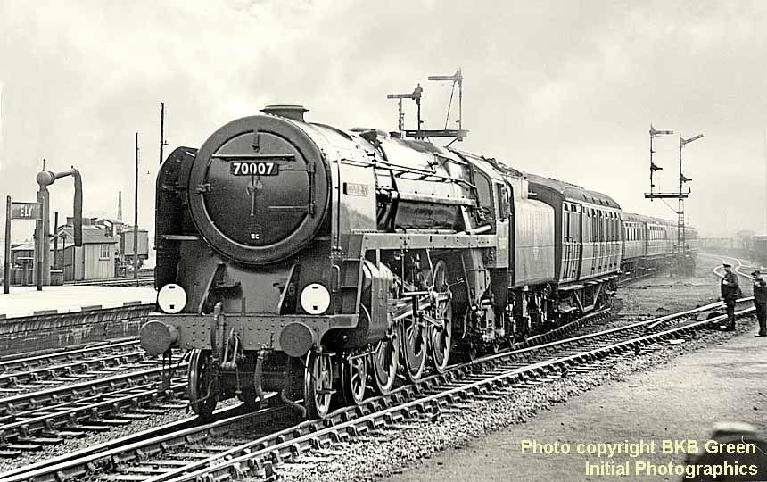 David Heys steam diesel photo collection 91 BR