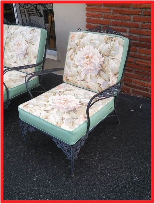 96 Reference Of Metal Patio Chair Cushions