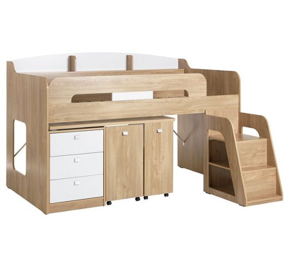 Buy Collection Ultimate Storage Midsleeper Bed Wood