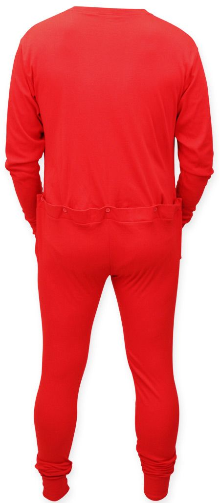 d5808793e0763 Union Suit - Red Long Johns | Lucky's Dresser | Union suit, Long ...