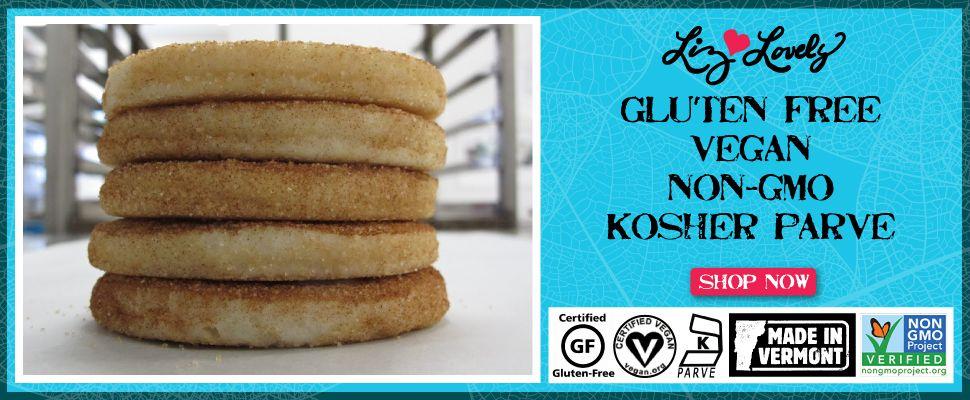 Liz Lovely Gluten Free Cookies & Vegan Cookies Shop (With