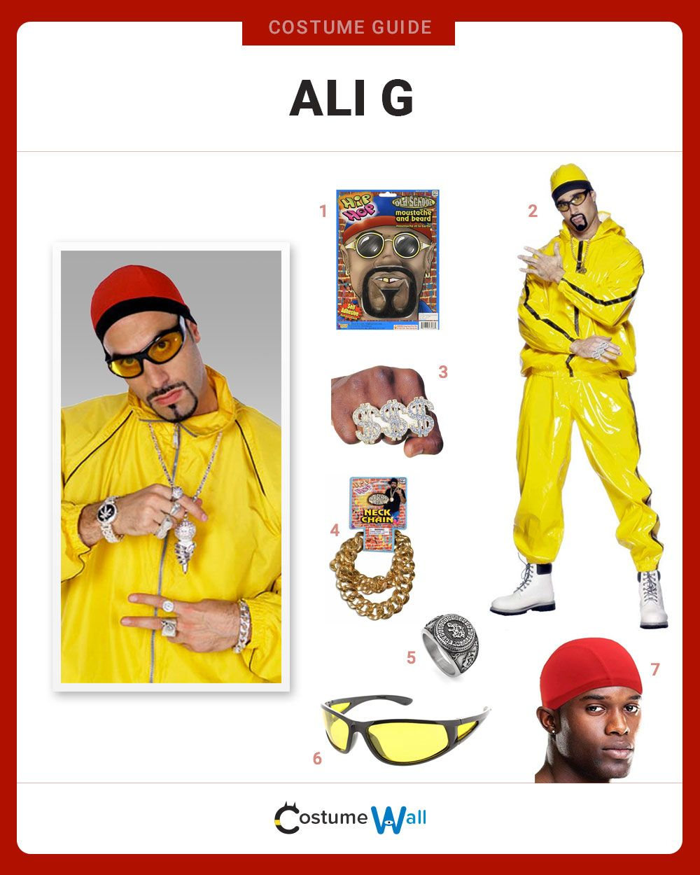 Dress Like Ali G Cool Costumes Great Halloween Costumes Got