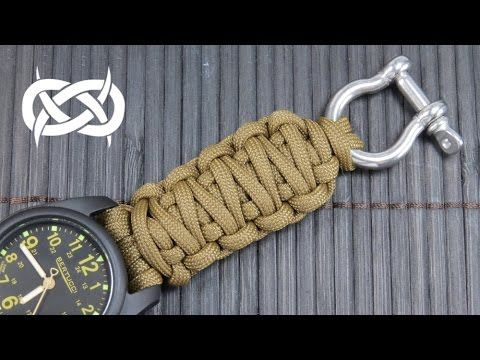 How To Make A King Cobra Paracord Watch Band Youtube Paracord