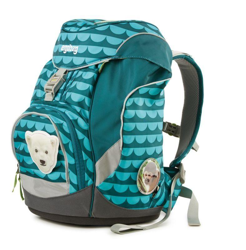 b2531609f43b8 Tornister, plecak ergonomiczny z akcesoriami, Tiny BEAR mighty - Ergobag