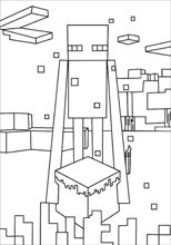 Here are the best Minecraft Enderman coloring pages ...