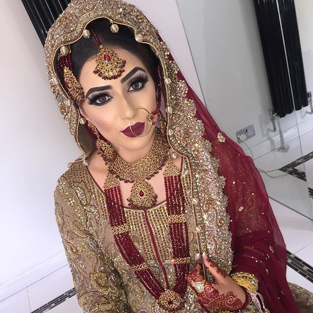 Black Pakistani Wedding Dresses Pakistani bride...