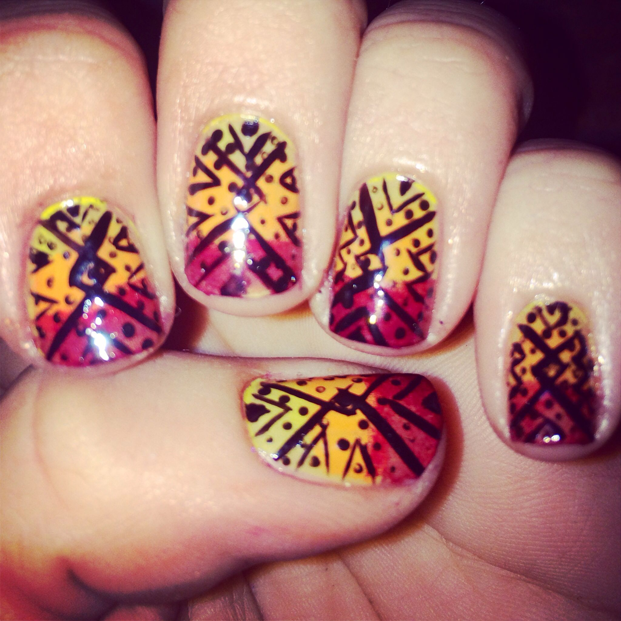 Diy western or indian nail art manicure beauty tips pinterest diy western or indian nail art manicure prinsesfo Gallery