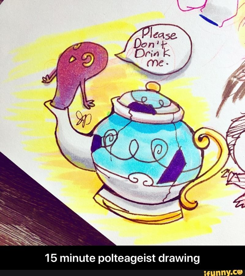 15 Minute Polteageist Drawing Ifunny Drawings Pokemon Funny Pokemon