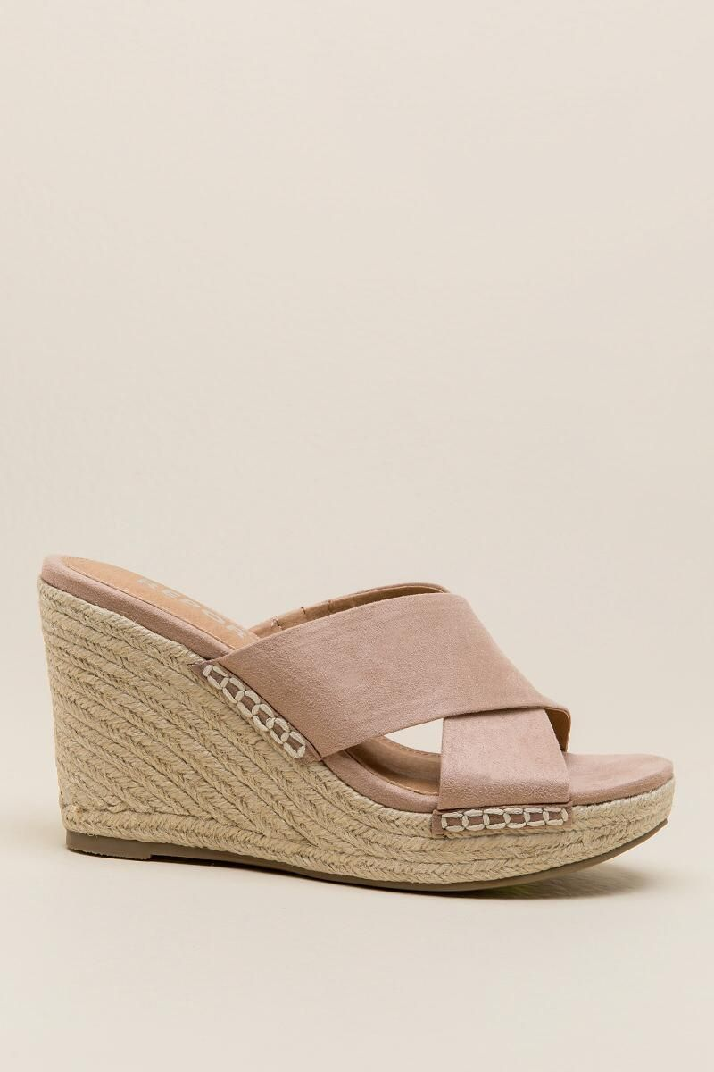 4396110350761 Report Delmar Mule Wedge-Taupe right | all wedgies in 2019 | Wedges ...
