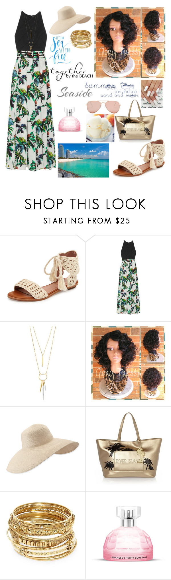 """Untitled #1126"" by feb16 ❤ liked on Polyvore featuring Joie, Proenza Schouler, Stella & Dot, Eric Javits, River Island, ABS by Allen Schwartz and Betsey Johnson"