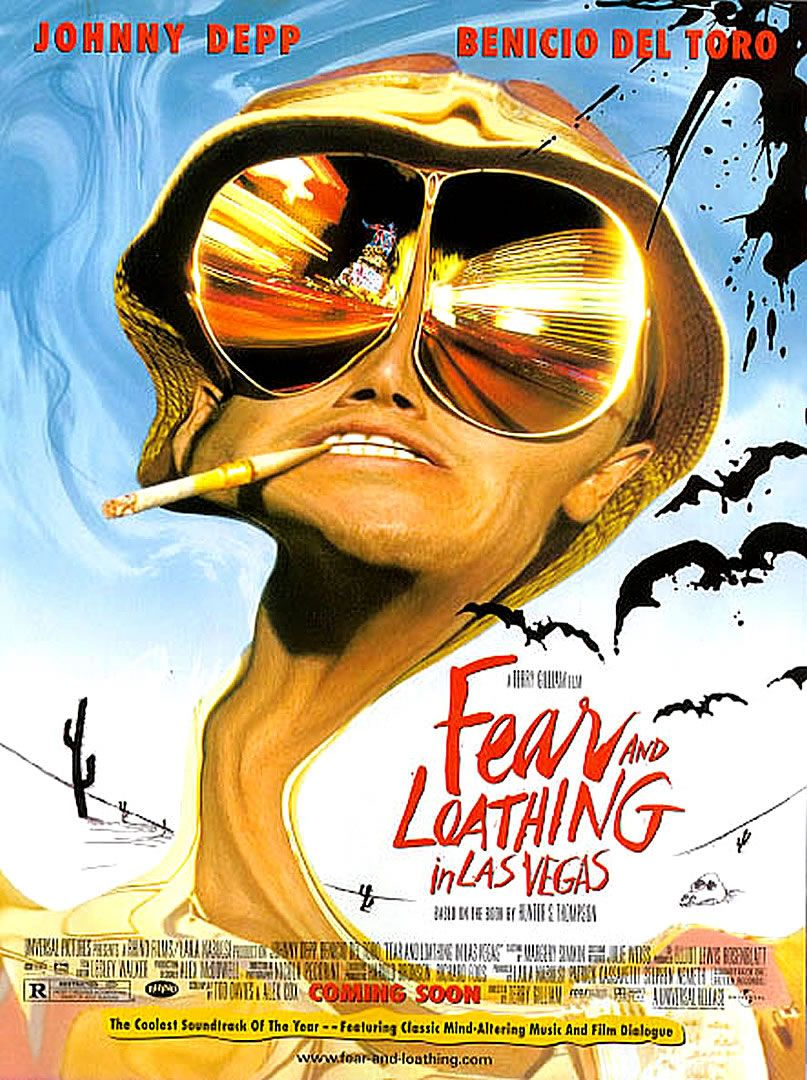 Image result for fear and loathing in las vegas movie poster