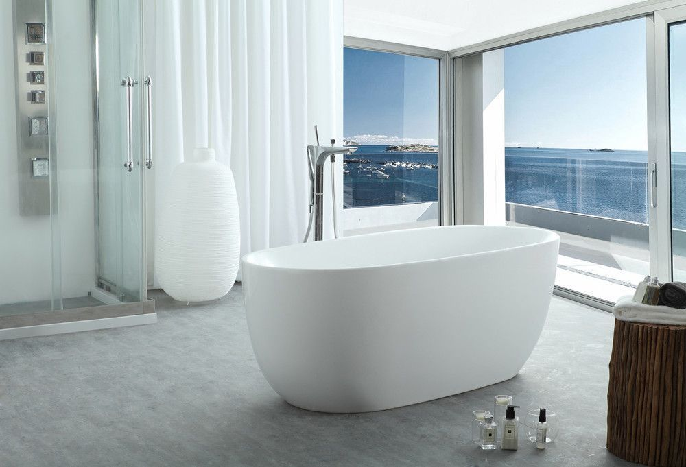 46 magnificient farmhouse master bathroom remodel ideas
