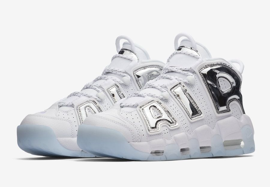 Nike Wmns Air More Uptempo Chrome Kicksonfire Com