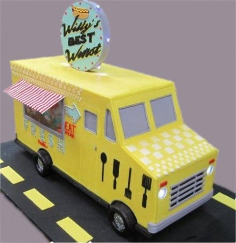 Food Truck Cake Avalon Cakes Avalons Cakes Pinterest - Avalon truck