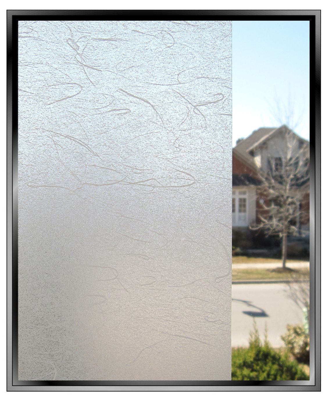 How To Cover Mirrored Closet Doors Frosted Gossamer Decorative Privacy Window Film Textured Toronto