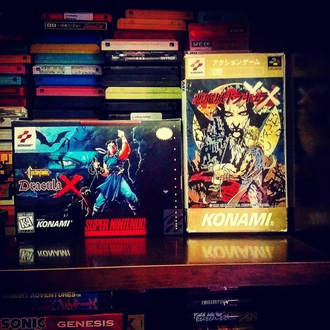 On instagram by salem_al_hosani #retrogames #microhobbit (o) http://ift.tt/1si7Vvl Dracula X on Snes #games  #nintendo #snes #superfamicom #castlevania #konami