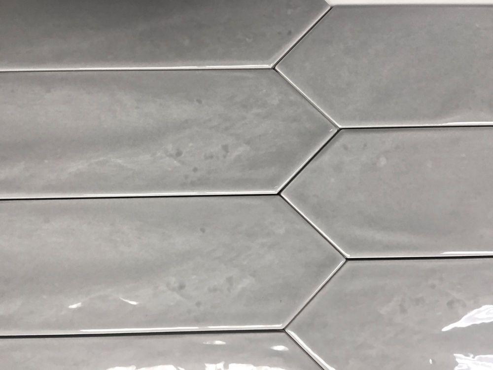 3x12 Modena Collection Smoky Gray Glazed Ceramic Tile Backsplash Wall Box Of 20 Squarefeetdepot Contem Ceramic Tile Backsplash Glazed Ceramic Tile Wall Boxes