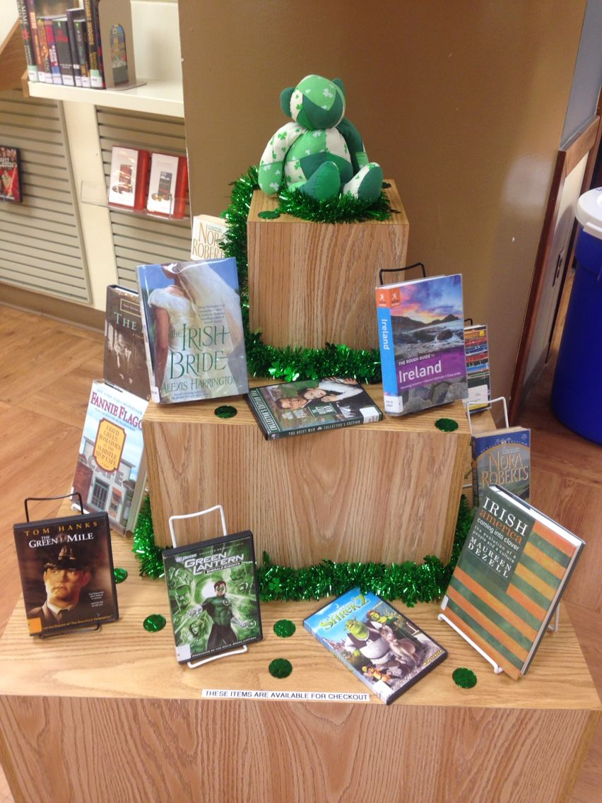 Irish/Saint Patrick's Day library display