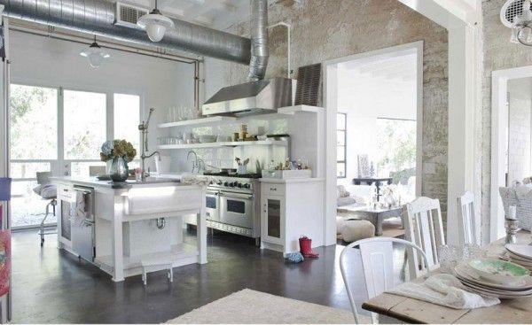 Design Style Shabby Chic Inspired Interiors Shabby Chic Kitchen