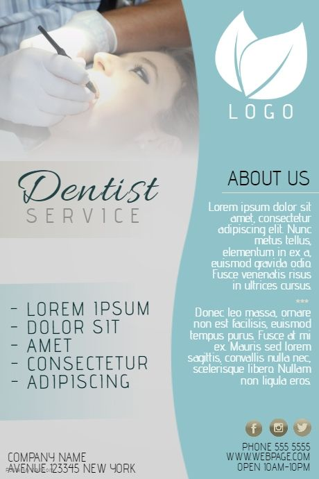 Dentist small business flyer template postermywall medical dentist small business flyer template postermywall cheaphphosting Images