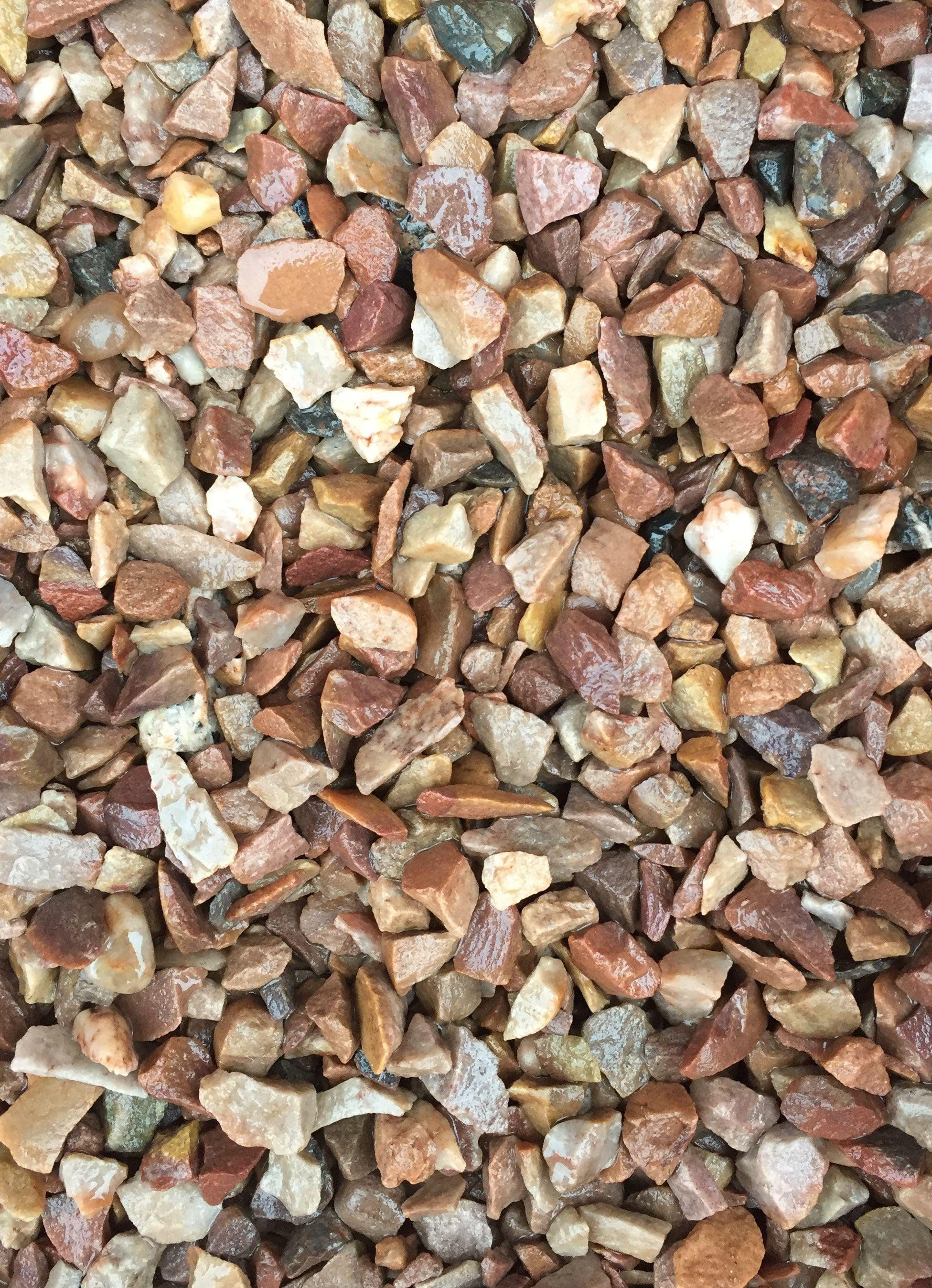 gravel mini decor stones tippers bag golden decorative
