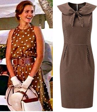 polka dot dress as seen in the film pretty women with julia ...