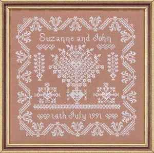 Posie: Rosy Little Things — Midsummer Sprigs ABCs Cross Stitch